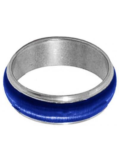 Elegant  Blue  Thumb Band Fashion Ring
