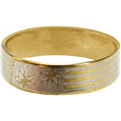Elegant  Gold  Leaf Fashion Ring