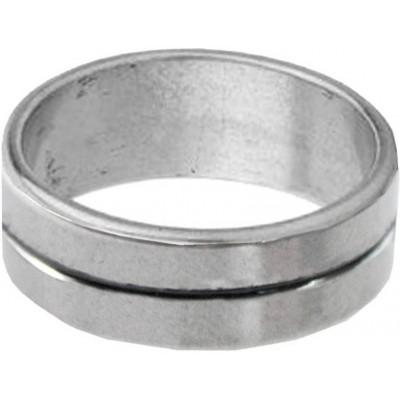 Black::silver  Fashion Thumb Ring