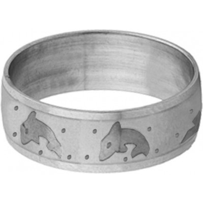 Elegant  Silver  Dolphin Fashion Thumb Ring
