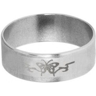 Classic   Silver  Butterfly Shape Design Thumb Ring