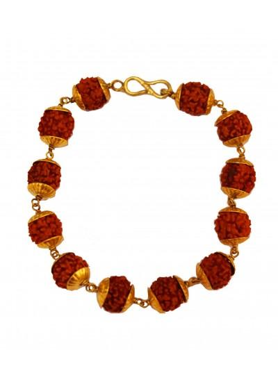 Brown Rudraksha Bracelet
