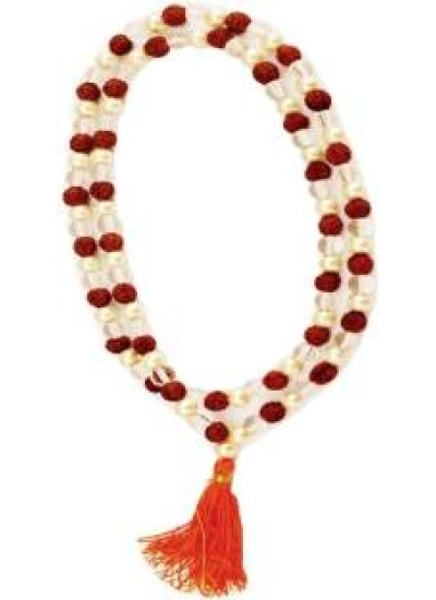 Multicolor  Rudraksha Necklace Chain