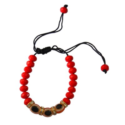 Red Evil Eye( Nazar Suraksha Kavach) Beaded Bracelets