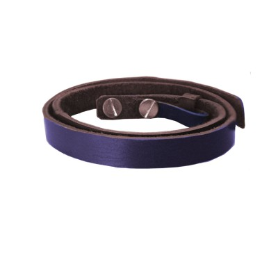 Mens Jewellery Blue  Stylish & Fancy  Bandth Fashion Leather Bracelets