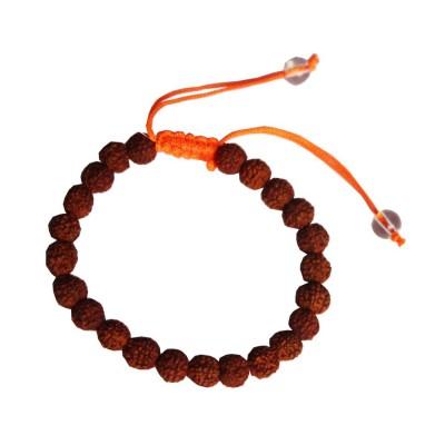 Religious Rudraksh Adjustable Design Rdraksha Bracelet (Size:-2.6)