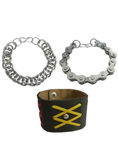 Menjewell New Classic Collection Multicolor Stylish Multi Design Bracelet Combo