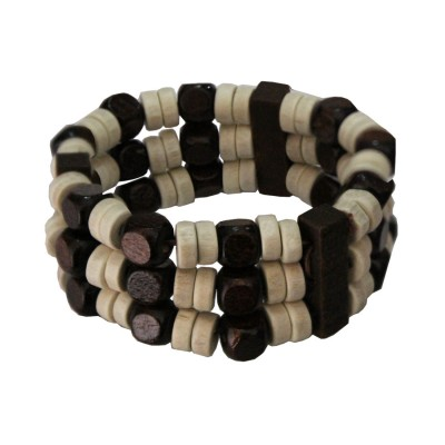 Multicolour Fashion  Wood Bracelet