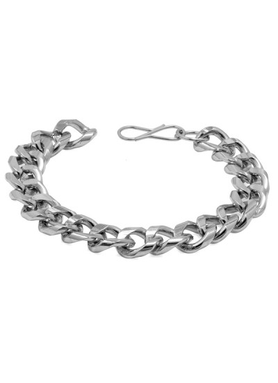 Silver Link Design Fashion Stainless steel Bracelets