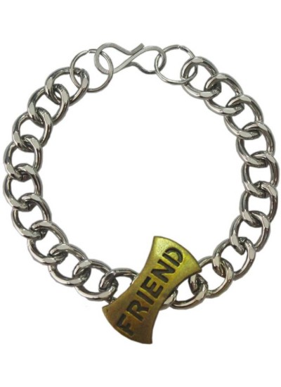 Elegant  Silver::Bronze  Friendship day special Wishlet Friend Friendship Day gift Friendship Fashion Bracelet