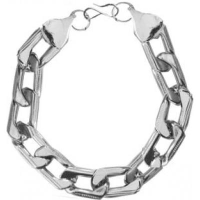 Silver  Link Chain Fashion Chain Link  Bracelets