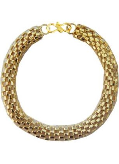 Elegant Gold Plated Silver Fashion Chain Link Bracelet