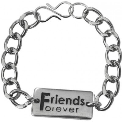 Elegant  Silver  Friendship day special Friends Gift Friendship Fashion Bracelet
