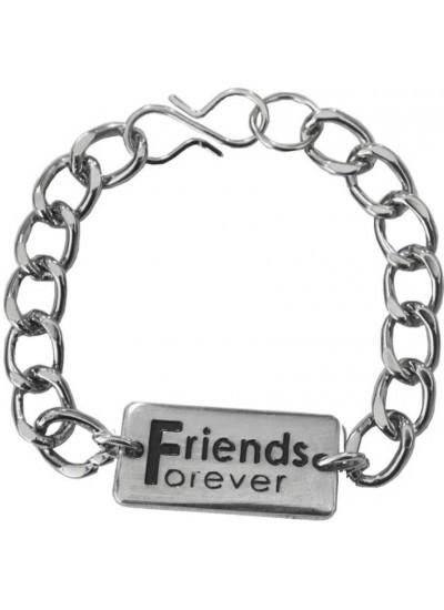 Elegant  Silver  Friendship day special Friends Gift Friendship Fashion Bracelet