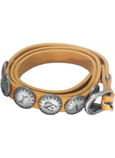 Elegant Brown Friendship Day Special Long Wristband Friend Fashion Leather Bracelet