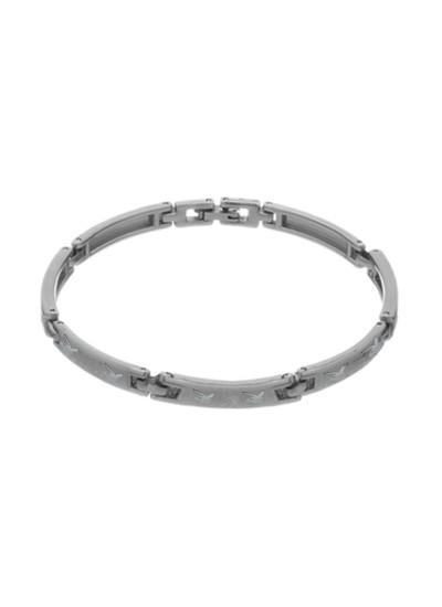Silver Link Fashion Stainless steel Bracelets