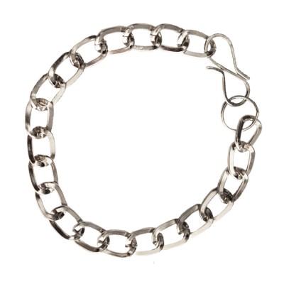 Silver Link Fashion Stainless steel Bracelets