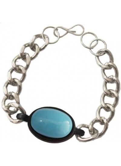 Elegant  Silver  Salman inspired Fashion Chain Bracelets