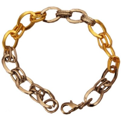 Elegant  Multicolor  Fashion chain link  Bracelet