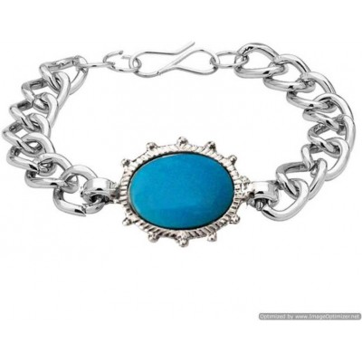 Silver Bollywood Salman Khan inspired Sulatan movie Fashion Stainless steel Bracelets Bracelet
