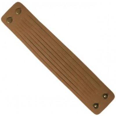 Elegant  Brown  Stripes Funky Fashion Bracelet