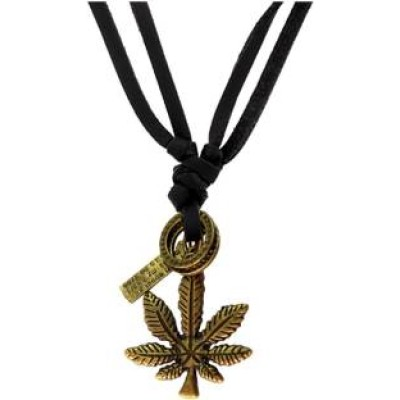 Bronze  Tree Fashion Pendant With Leather String