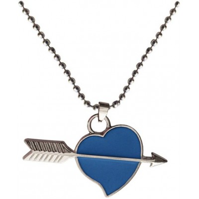 Elegant  Blue  Heart shape Fashion Pendant