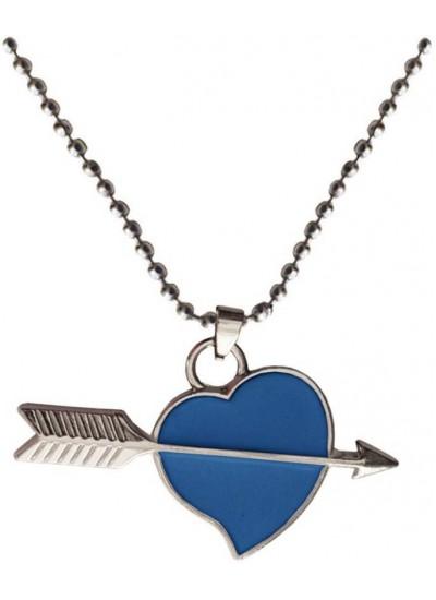 Elegant  Blue  Heart shape Fashion Pendant