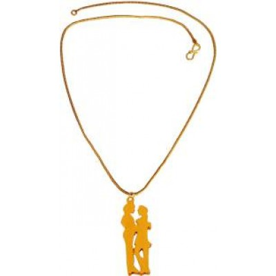 New Collection  Gold  Valentine Day Special Romantic Dancing Couple Pendant