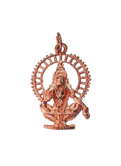 Copper  Ayyappa Swami Pendant