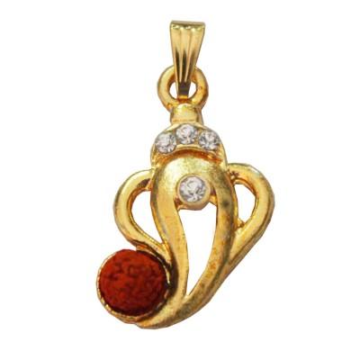 Gold  Lord Ganesh Pendant