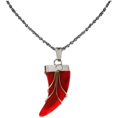 Elegant  Red  Tiger Nail Fashion Pendant