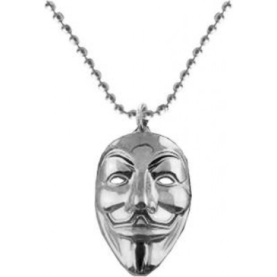 Elegant  Silver  Vendetta Fashion Pendant