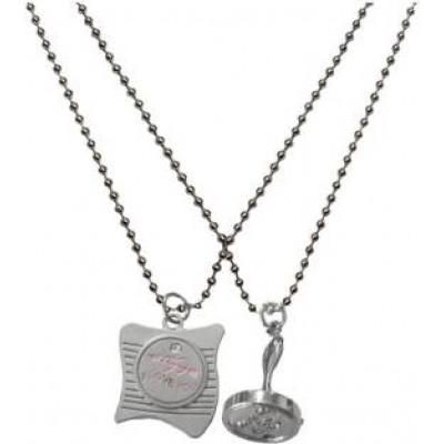 Elegant  Silver  Friendship Day Special Stamp Fashion Pendant