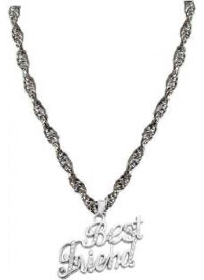 Elegant  Silver  Best Friend Fashion Pendant