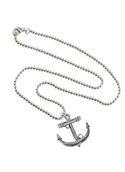 Grey Oxidized Anchor Fashion Anchor Maritime Ship Pendants
