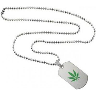 Elegant  Green  Leaf Fashion Chain Pendant