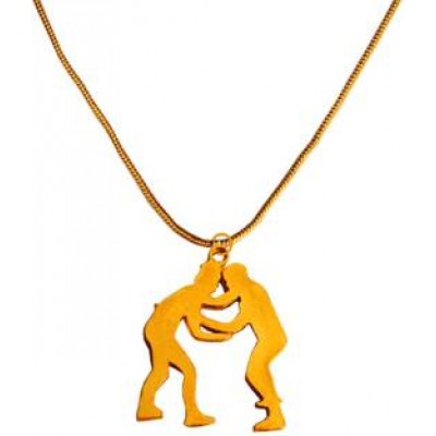 New Collection Gold Bollywood Film Inspired Pendant