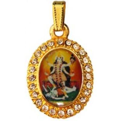 Multicolor  Goddess Mahakali Maa Pendant