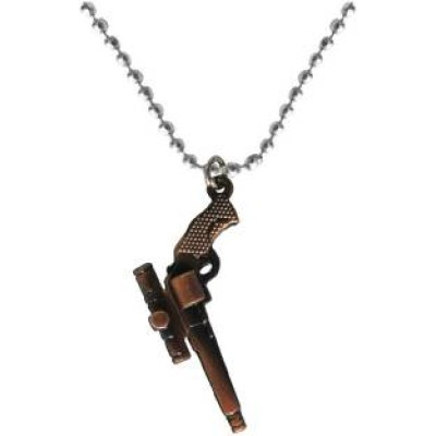copper  Gun Fashion Pendant