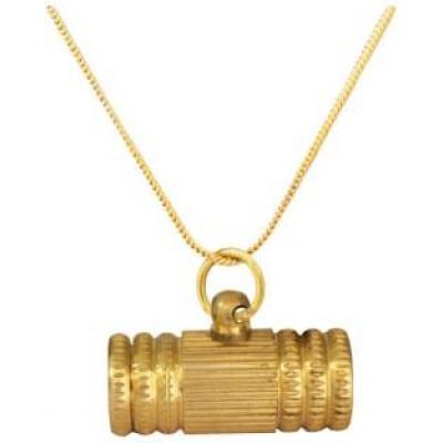Gold  Tabiz Pendent