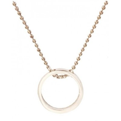 Elegant  Silver  Fashion Chain Pendant