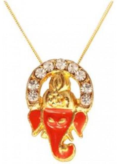 Gold  Ganesha Pendent