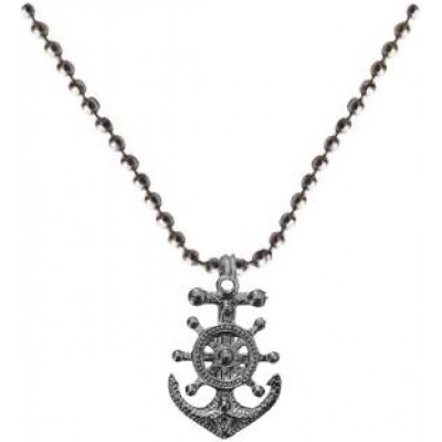 Grey  Anchor Fashion Pendant